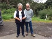 Mariner's Lookout Carpark - Lynda & Mike